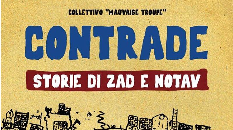 """Presentazione del libro """"Contrade – storie di Zad e Notav"""""""
