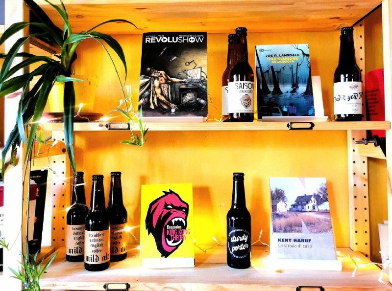 Una birra e un libro